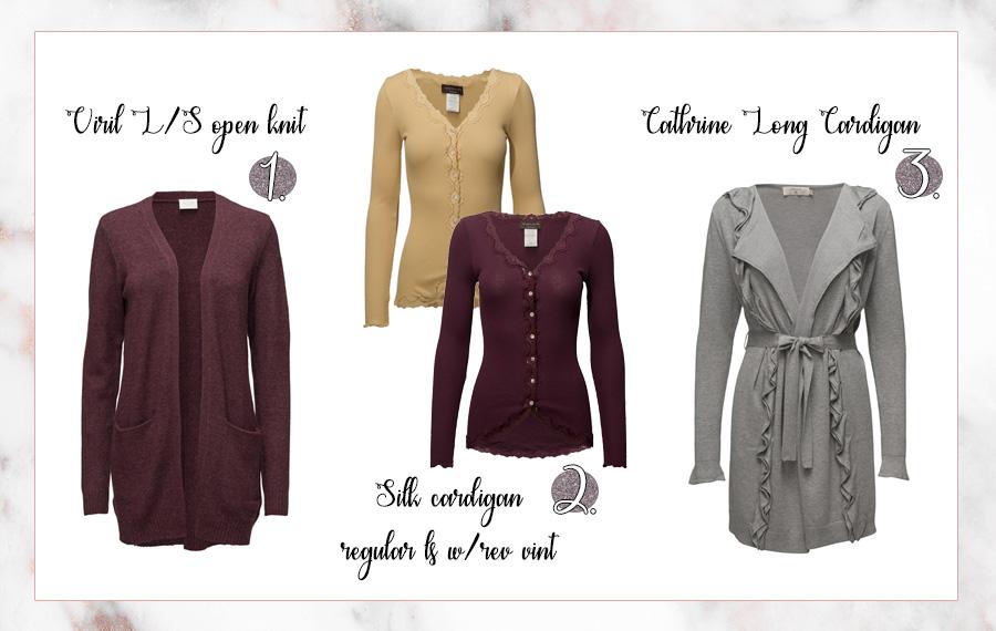 Cardigans som är perfekta till en stilsäker garderob
