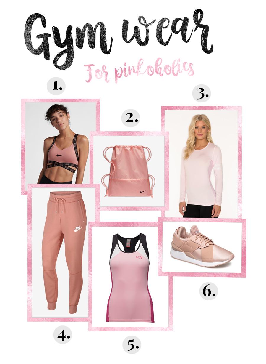 Träningskläder för pinkoholics