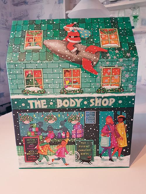 The Body Shop adventskalender 2019